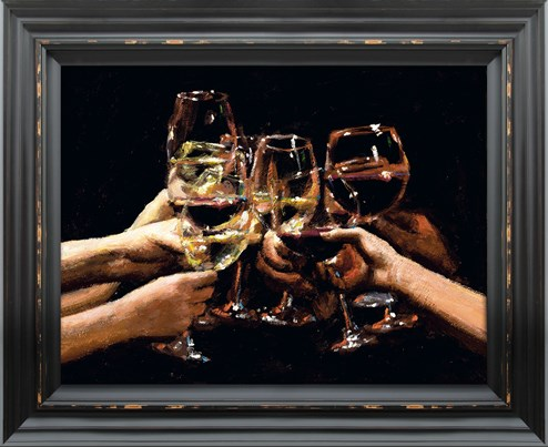 For a Better Life IX by Fabian Perez - Framed Embelished Canvas on Board