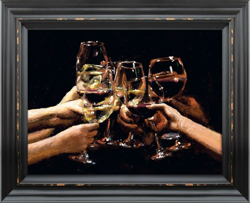 Image: For a Better Life IX by Fabian Perez | Embelished Canvas on Board